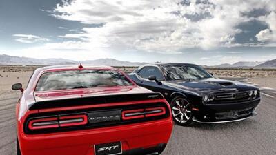 El Challenger Hellcat es el muscle car más potente de la historia.
