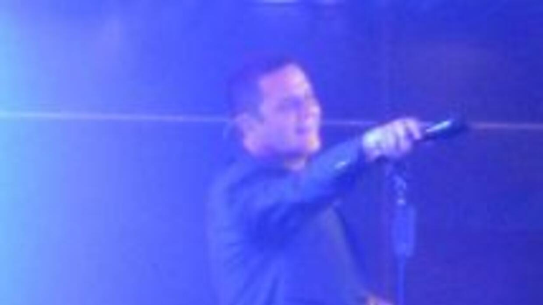 Alejandro Sanz en su concierto en Miami