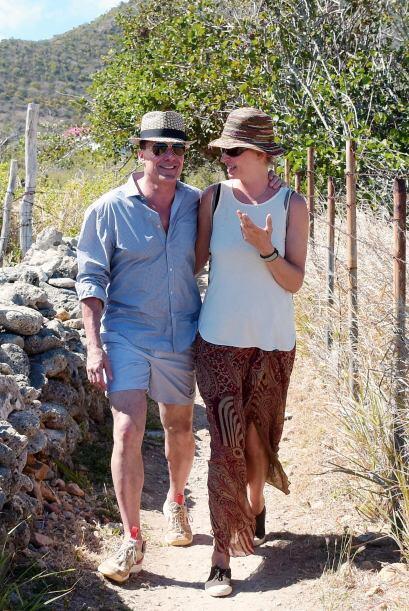 Uma Thurman y su pareja, Andre Balazs, están disfrutando del para...