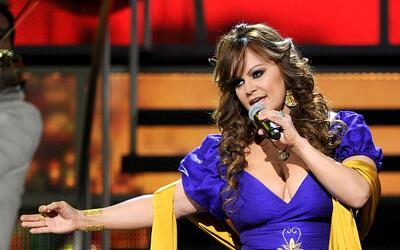 Jenni Rivera en los Latin GRAMMY el 11 noviembre 2010 en Las Vegas, Nevada.