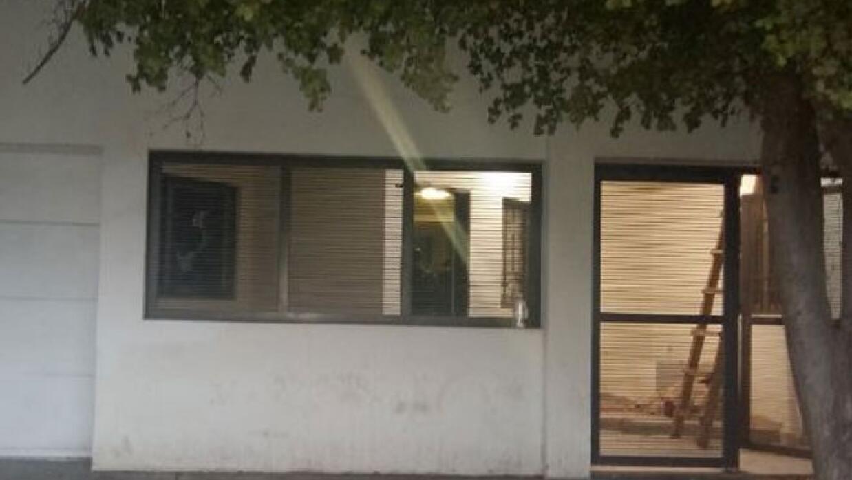 Esta es la casa en la que se realizó el operativo en Los Monchis, Sinaloa