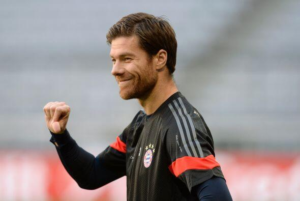 En el décimo lugar se encuentra el futbolista del Bayern Múnich, Xabi Al...
