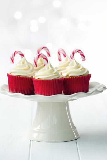 Detalles navideños para decorar tus 'cupcakes