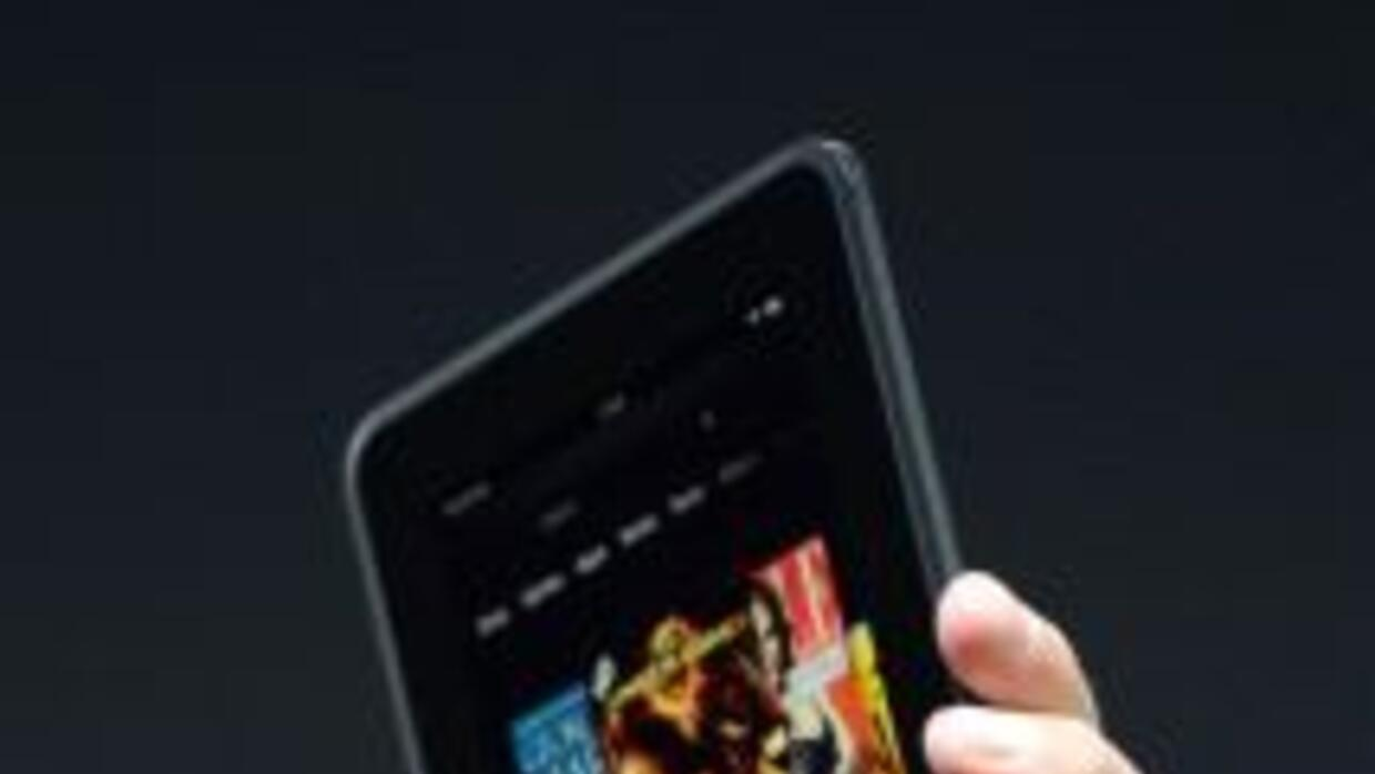 Amazon Kindle Fire HDX (Foto archivo)
