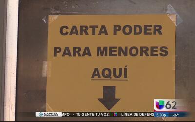 Consulado de México en Austin ofrece ayuda a familias que teman ser sepa...