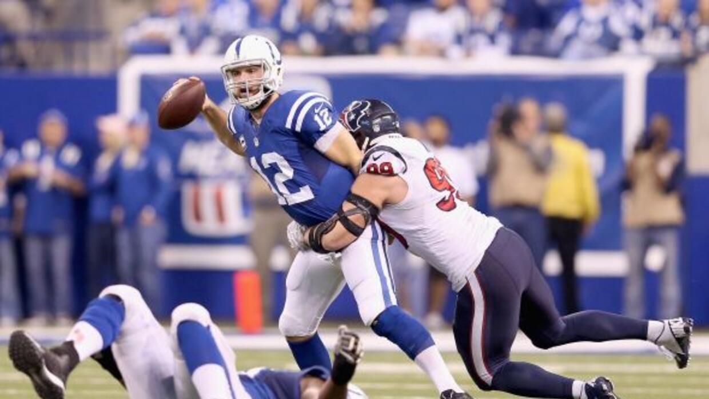 Los Colts afianzaron la corona de la Sur AFC tra ganarle a los Texans 17...