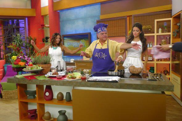 En la cocina, El Chef Pepín preparó un delicioso 'Meatloaf...