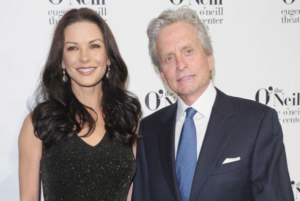 Catherine Zeta-Jones y Michael Douglas son uno de los matrimonios ejempl...
