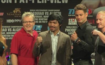 "Manny Pacquiao: ""No puedo subestimar a Algieri"""