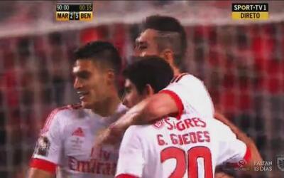 Benfica gana la Copa de la Liga de Portugal con gol de Raúl Jiménez