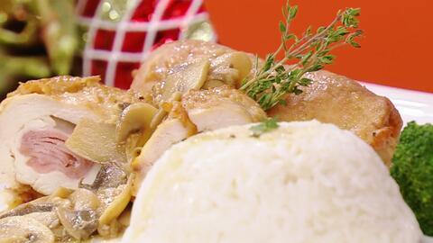Esta Pechuga de Pollo Rellena es tu mejor opción para comer hoy