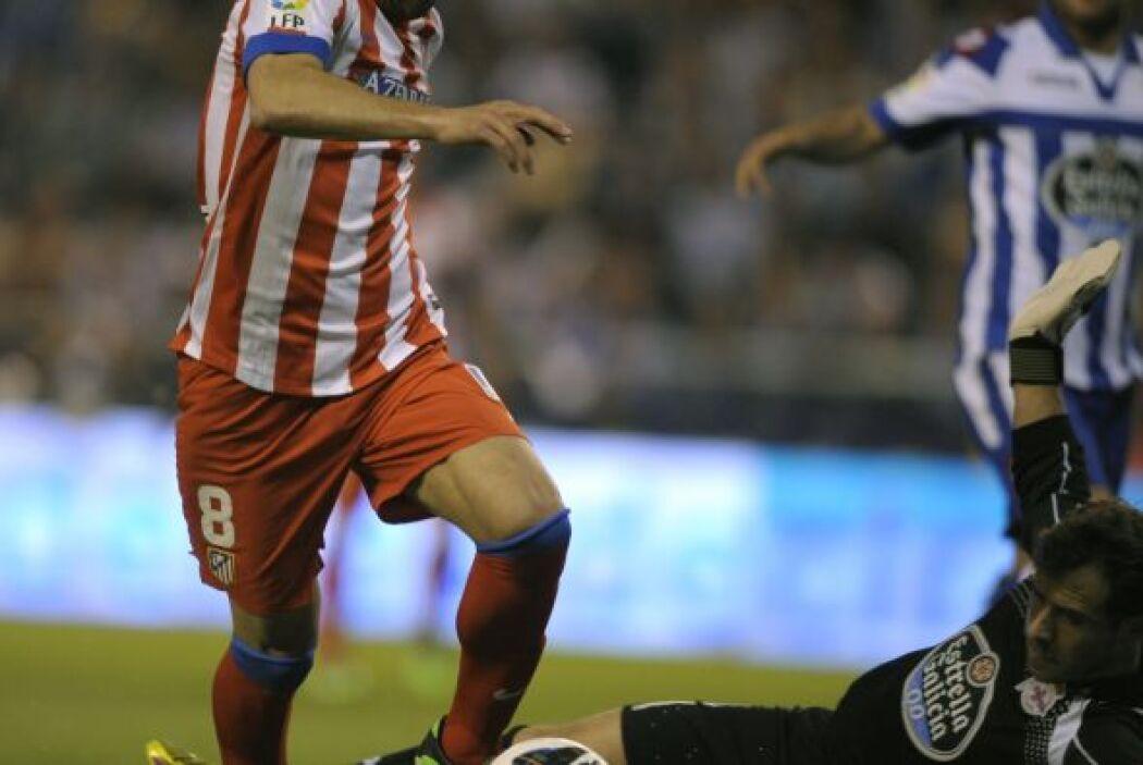 El Atlético de Madrid se llevó un empate sin goles ante el Depor.