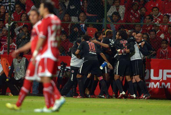 Finalmente están los Xolos de Tijuana y los Diablos Rojos de Tolu...