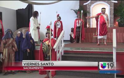 Celebran la fe este Viernes Santo en el Santuario de Nuestra Señora