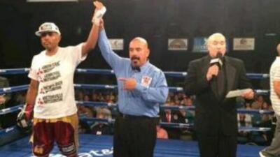 Gabriel Campillo derrotó a Williams (Foto: Twitter).