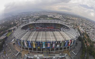 El Estadio Azteca está de manteles largos.