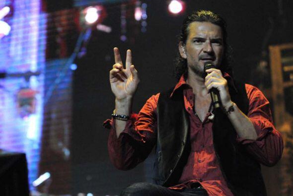 El guatemalteco agradeció la presencia de su público argen...
