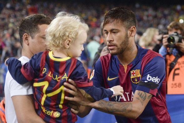 Lo único cierto es que Neymar es un papito lindo y tierno.