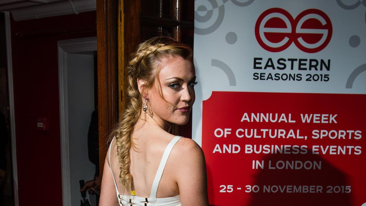 Camilla Kerslake attends Eastern Seasons' Gala Dinner