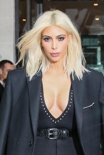 """Kim fue la """"comidilla"""" durante la Semana de la Moda en París."""