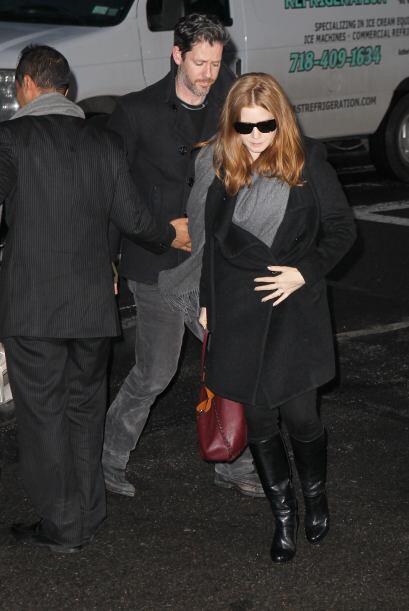 La actriz Amy Adams también estuvo presente. Más videos de Chismes aquí.