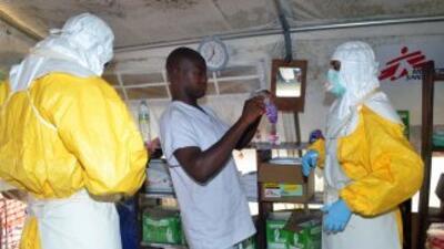 Brote de ébola en Sierra Leona.