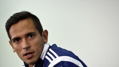 El cuadro del Málaga oficializó la salida del delantero paraguayo del cl...