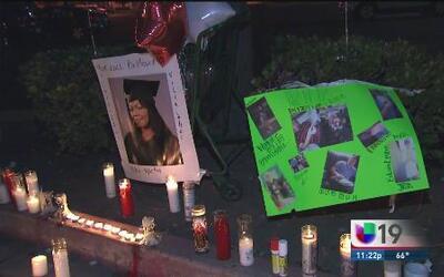 Vigilia por víctimas de homicidio en Stockton