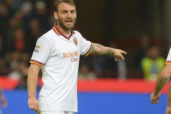 El mundialista Danielle de Rossi estuvo en el 2013 con la Roma jugando a...