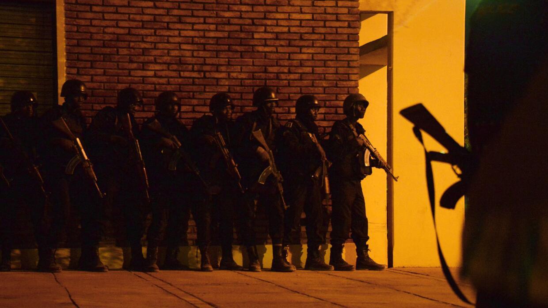 Miembros del Ejército de Burkina Faso.