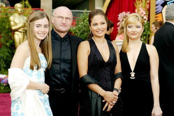 Lili, hija del primer matrimonio de Phil Collins, dejó de vivir con su p...