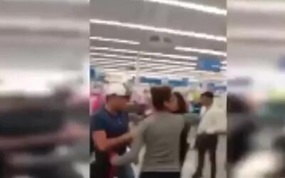 En video, la brutal paliza de una familia a los guardias de seguridad de...