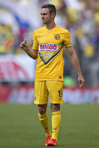 Miguel Layún: Anotó el gol que le dio el triunfo al América ante Atlante...