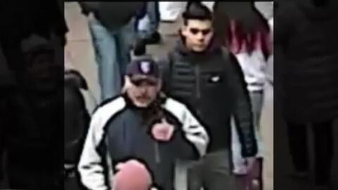 Dos sujetos golpearon brutalmente a un hombre en una estación del subway...