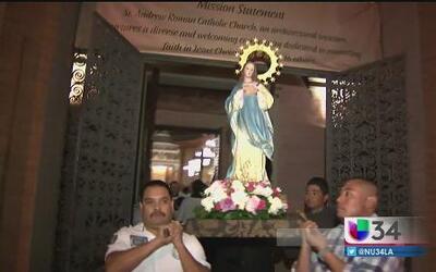 Celebran Purísima Concepción de Maria