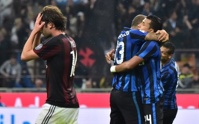 Guarín decidió el 'derby della madonnina'