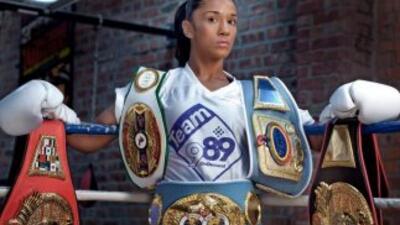 Campeona puertorriqueña Amanda Serrano