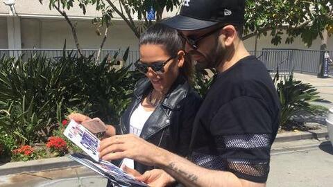 Nuestros conductores aprovecharon su visita a Los Ángeles para conocer u...
