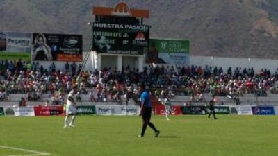 Antigua vence 2-0 a Universidad. (Twitter)