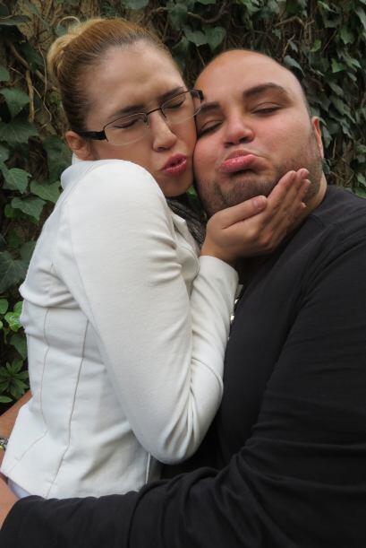 Ricardo y Paloma Carrasco se muestran afecto en los ensayos de la segund...
