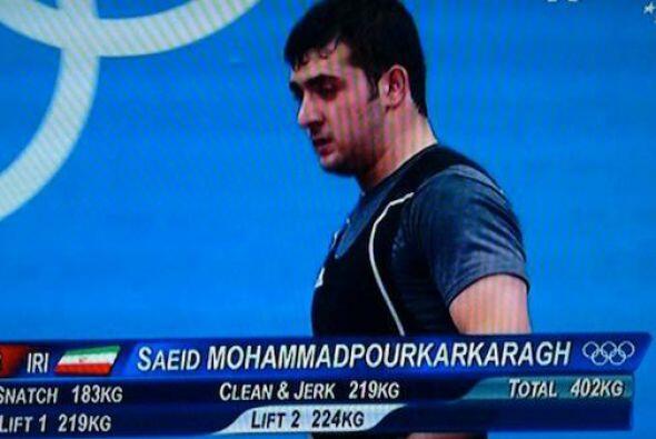 Y si hablamos de nombres raros nos encontramos con Saeid Mohammadpourkar...