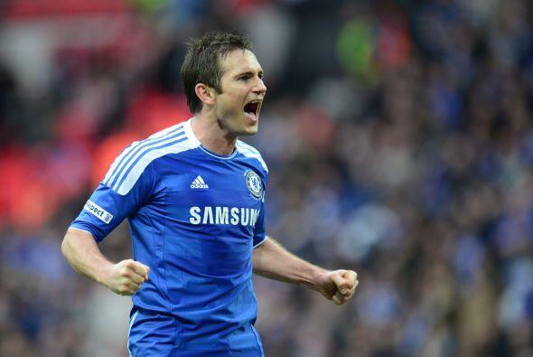 Frank Lampard será el jugador que comience a circular la pelota p...