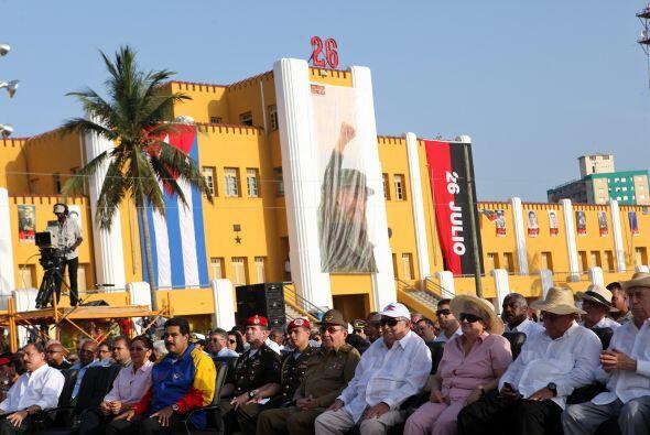 El único presidente de la ALBA ausente fue el ecuatoriano Rafael...