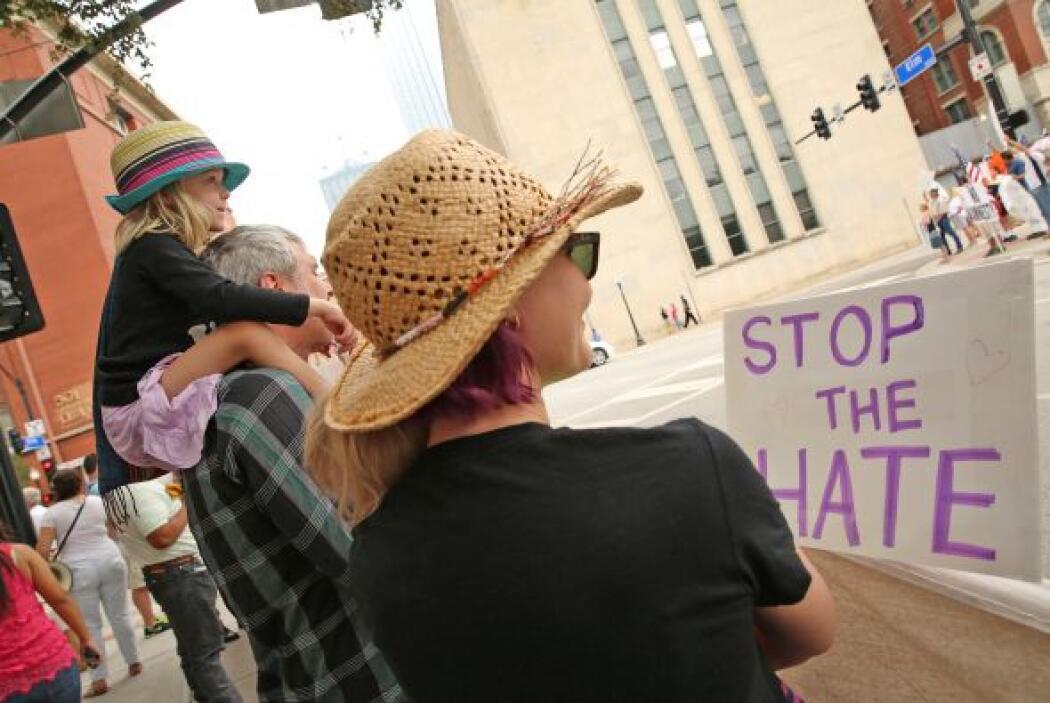 Protesta en Dallas