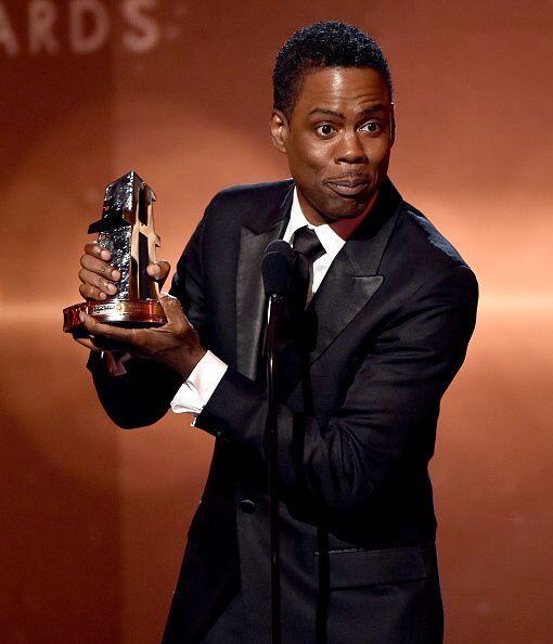 Chris Rock fue reconocido con la estatuilla de 'Mejor Película de Comedi...
