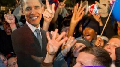 El presidente Barack Obama habría obtenido 75% del voto latino, la mayor...