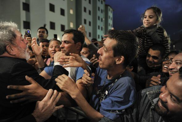 Los pobladores de Sao Bernardo do Campo fueron los beneficiados del prog...
