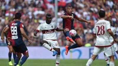 Milan cayó en Génova y Torino es segundo