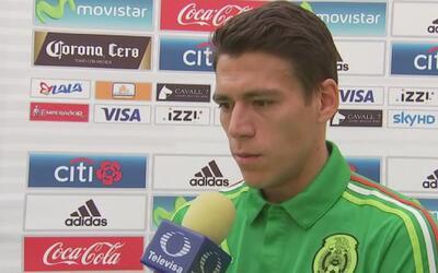 """Héctor Moreno: """"Nos encantaría que los 90 minutos se nos apoyara de igua..."""