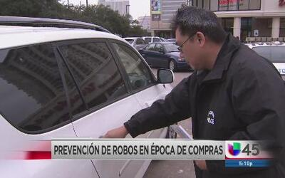 Prevención de robos en Houston